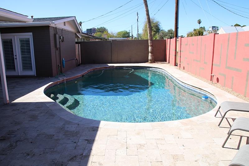 Leak Detection on an Arizona Pool