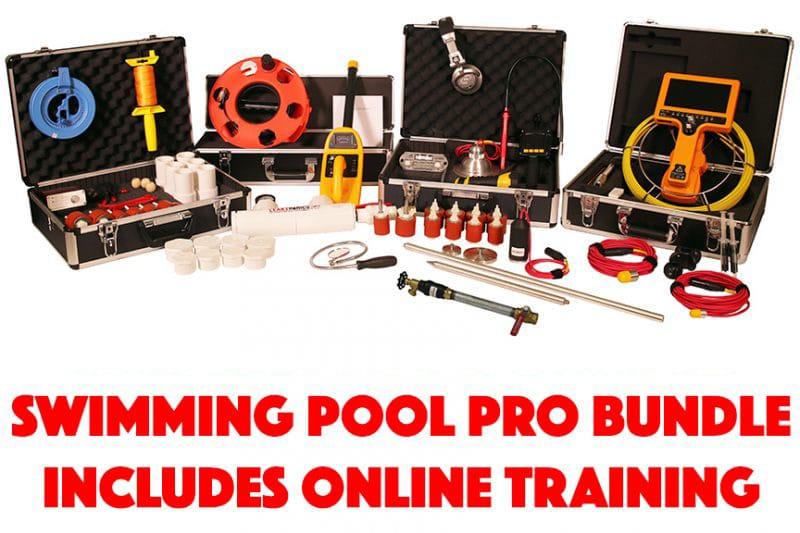Swimming Pool Pro Equipment Bundle Leaktronics 818 436