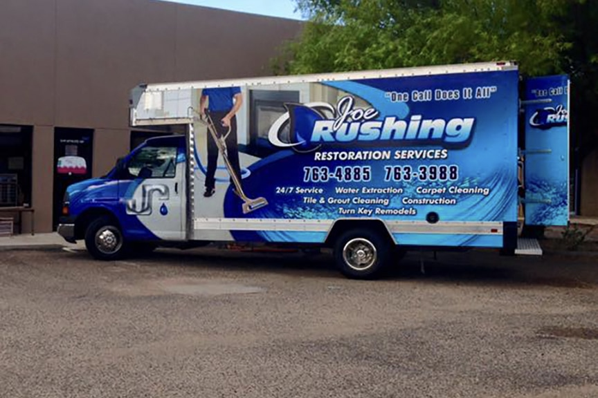 Joe Rushing Plumbing Truck