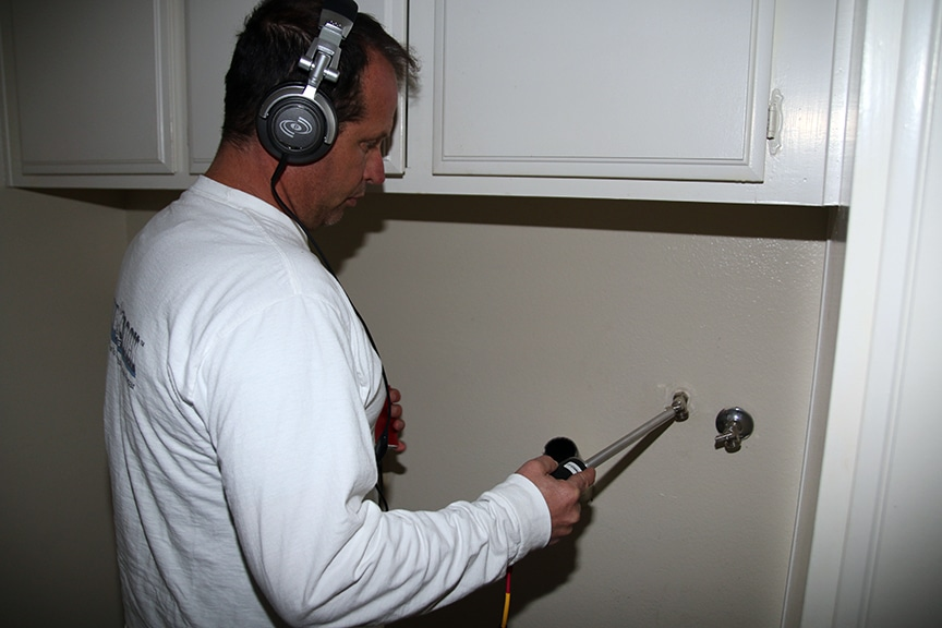 Plumbing leak detection - Pipe Probe, Finding residential leaks
