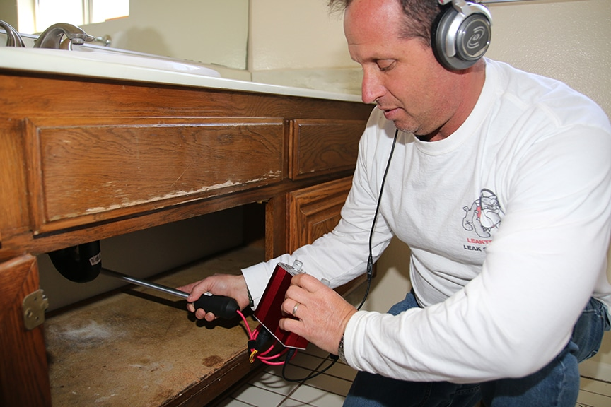 Training For Plumbing Leak Detection
