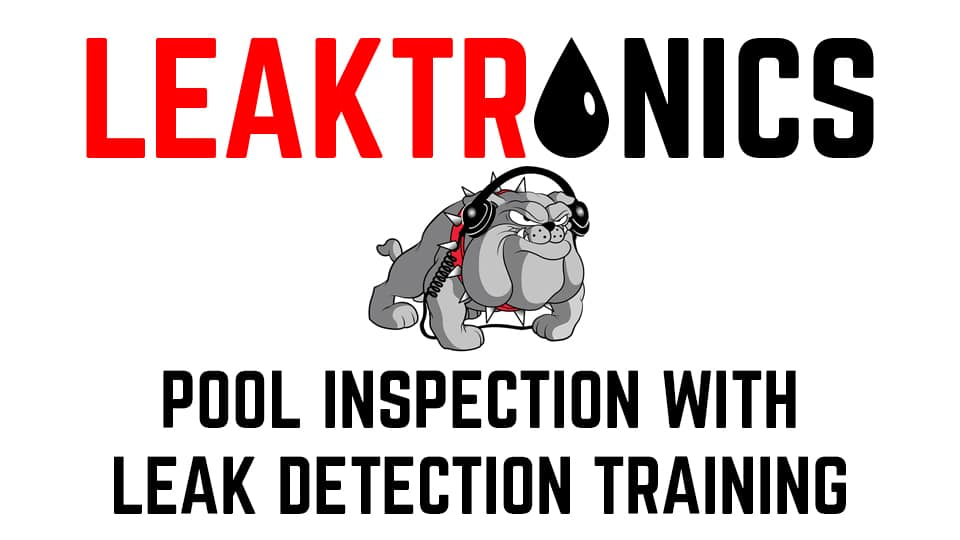Pool Inspection and Leak Detection Online Training and Certification Course
