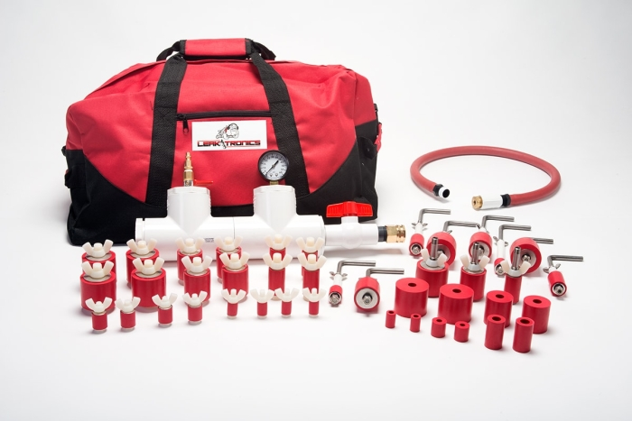 Service Plug Kit for leak detection by LeakTronics