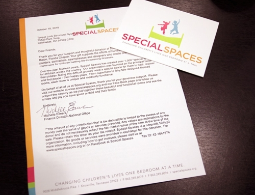 A Letter From Special Spaces