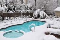 Winter-Pool