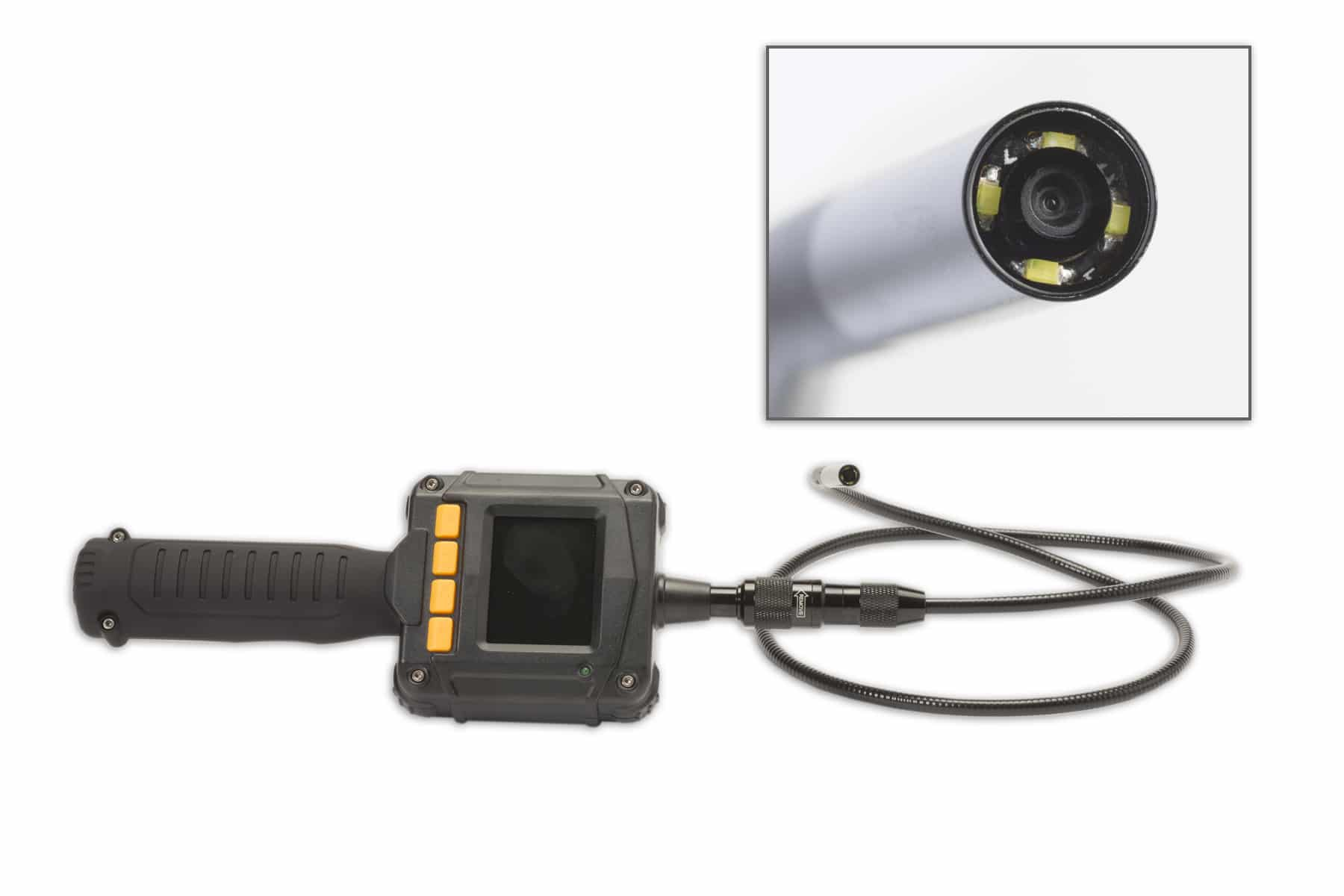 The small hand held video camera from LeakTronics