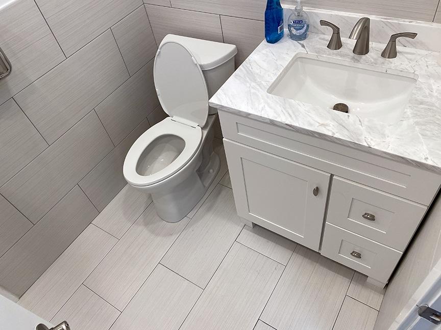 Bathroom Leak