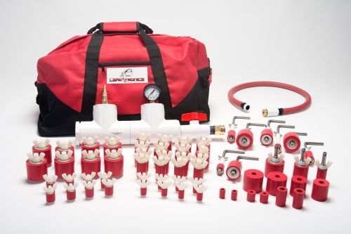 Universal Test Plug Kit for leak detection by LeakTronics - Pressure Rigs