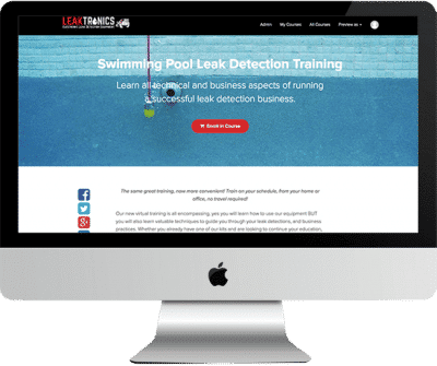 Swimming Pool Leak Detection Training