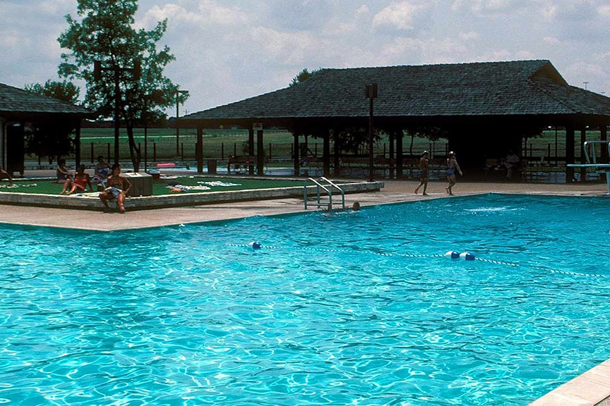 Lyndon B. Johnson State Park Pool, Texas Leak Detection and Consulting