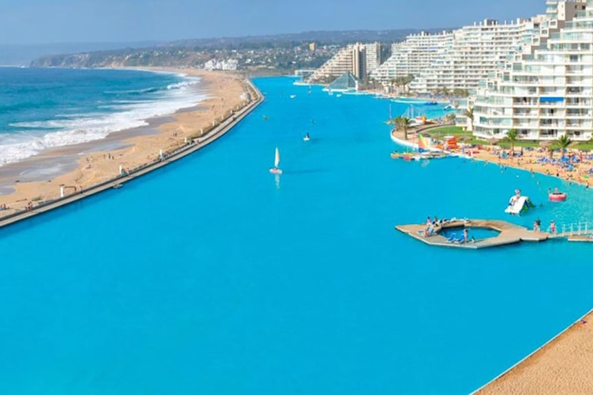 San Alfonso Del Mar – Algarrobo, Chile Leak Detection and Consulting