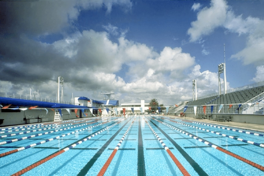 Ft. Lauderdale YMCA Olympic Pool leak Detection and Consulting