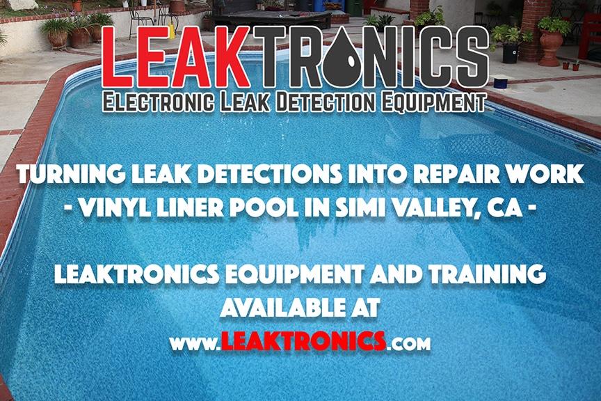 Vinyl liner leak detection and repair leaktronics - Swimming pool leak detection and repair ...