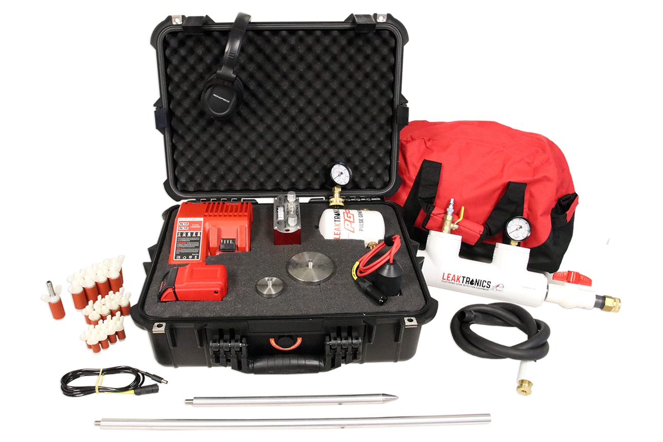 The irrigation Leak Detection Kit by LeakTronics